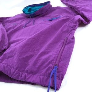 Columbia Jackets & Coats - Vintage 1980s Columbia Windbreaker Purple Teal XL